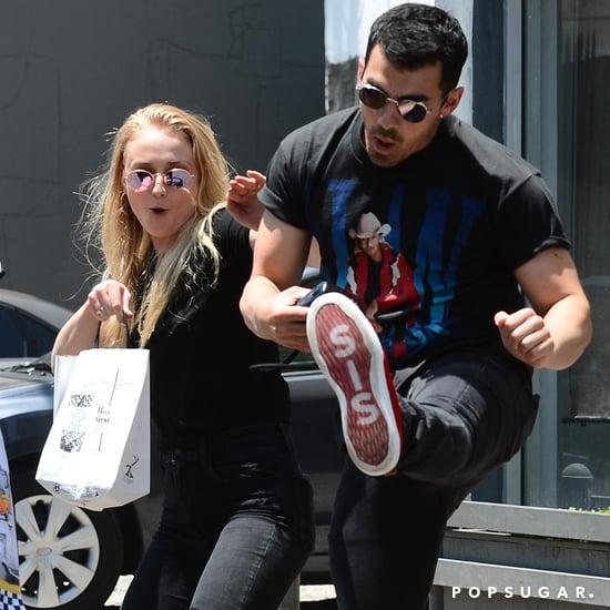 Joe Jonas and Sophie Turner Out in LA June 2017