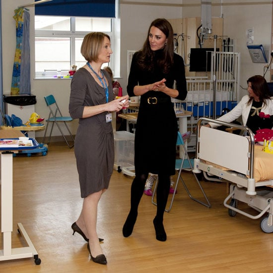 Kate Middleton Hospital Visit Pictures in Liverpool