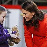 Kate Middleton With Kids at Great Ormond Street Hospital