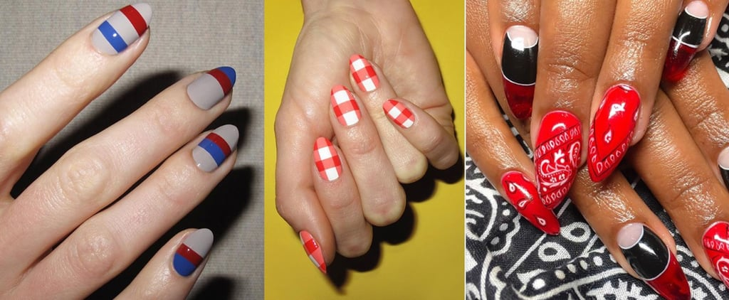 Fourth of July Nail Art Ideas 2018