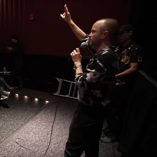 Aaron Paul Surprises Fans at El Camino Movie Screening Video