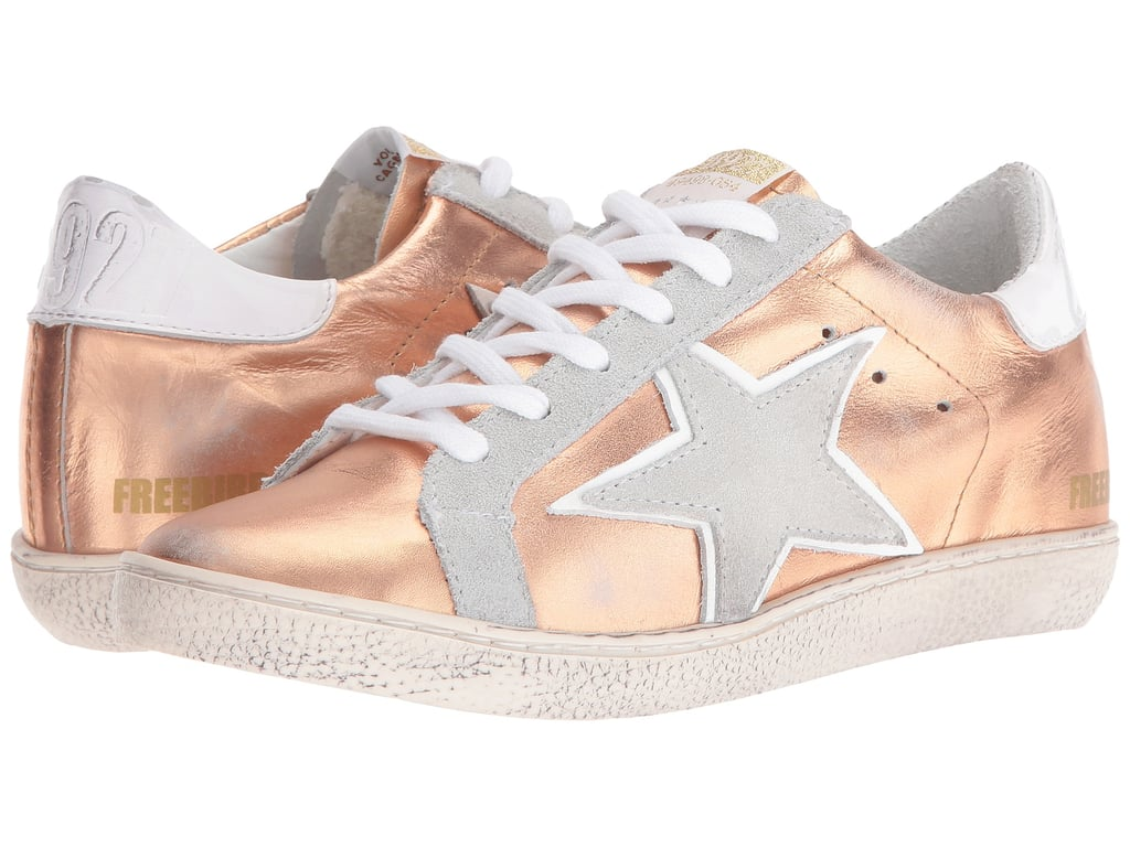 Rock your rose gold sneakers with these Free Bird 927 Shoes ($129)