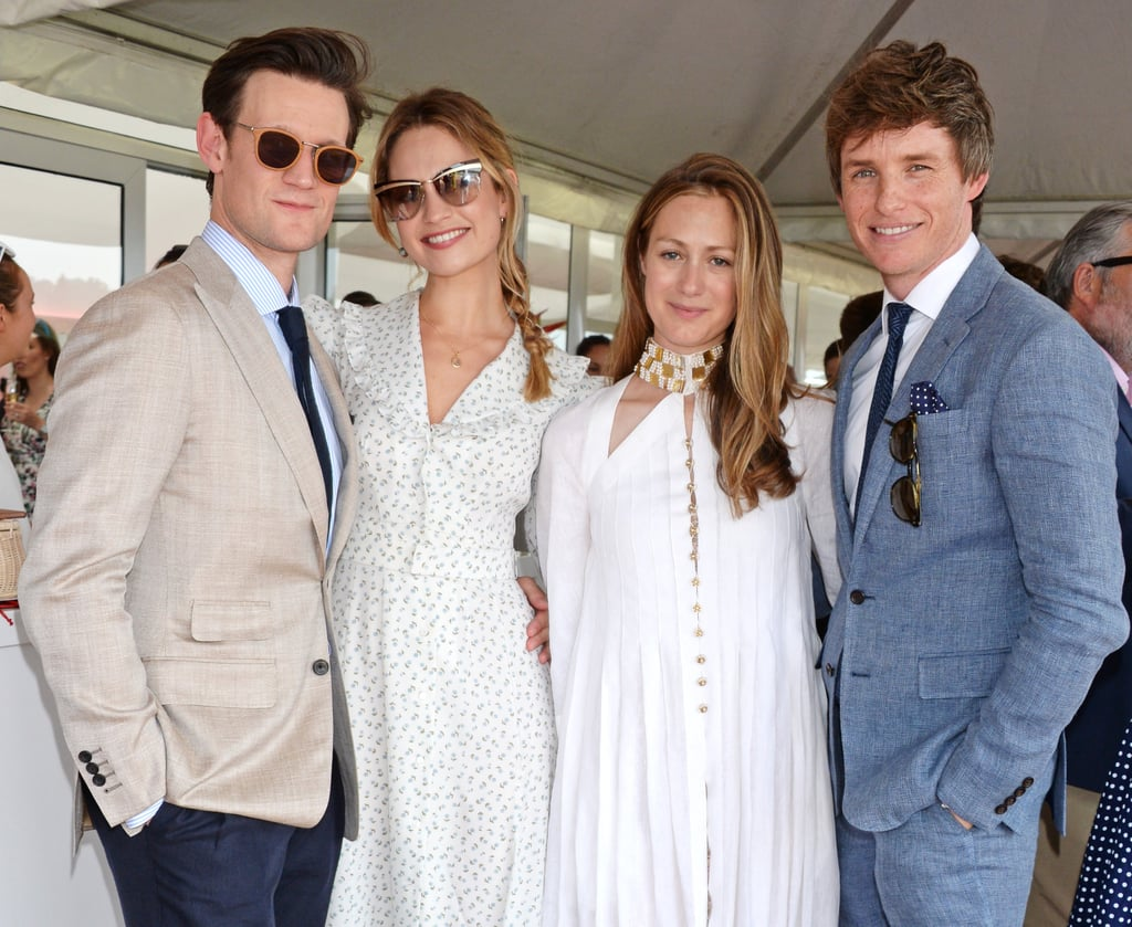 Celebrities at the Audi Polo Challenge 2018