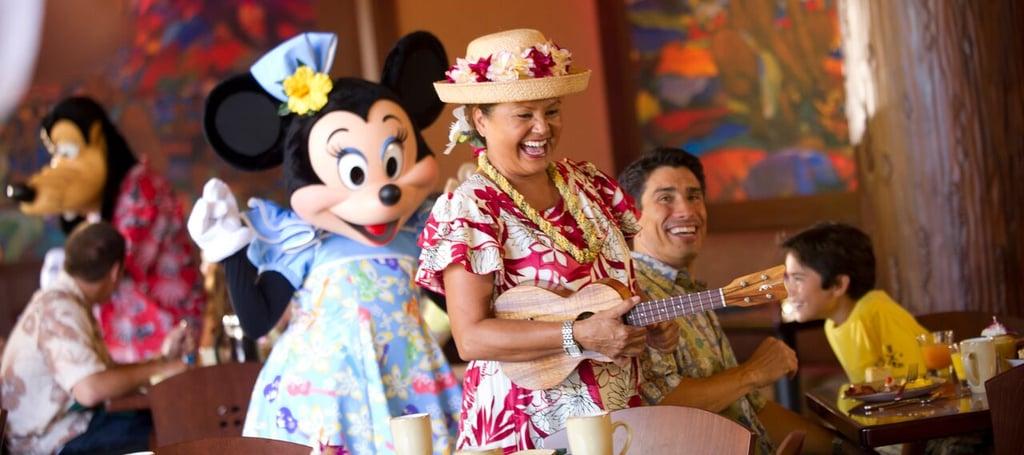 Enjoy a Character Breakfast at Makahiki