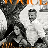 Victoria and David Beckham on the Subscriber Edition of British Vogue