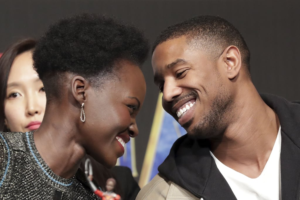 "Lupita Nyong'o and Michael B. Jordan are receiving major praise for their roles in Black Panther, but they also have a lot of people wondering about their relationship status — specifically, if they're dating. As much as we love their cute interactions, Lupita and Michael are just friends. Even though Michael previously said he was ""technically single,"" he later clarified his comments saying he's dating, and according to BET, he's currently romancing a woman named Ashlyn Castro.  Lupita has also been pretty private when it comes to her love life, though she was previously linked to GQ Style fashion editor Mobolaji Dawodu. When asked about her relationship status in Vogue's January issue, Lupita responded, ""You can ask, but you definitely won't get an answer. There have been rumors and rumors and rumors about my love life. That's the one area that I really like to hold close to my heart."" Well, at least we'll always have these cute moments."