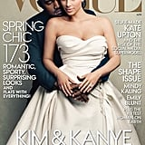 The two were all loved up on the cover of Vogue in April 2014.