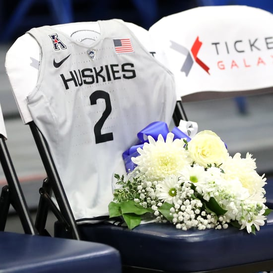 The UConn Huskies Honored Gianna Bryant With a Jersey