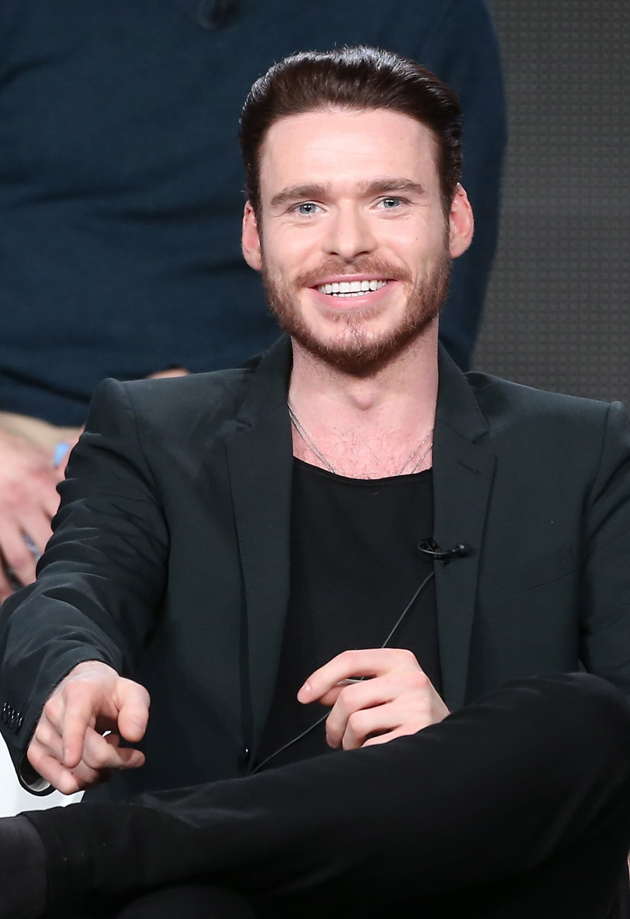 Game of Thrones' Richard Madden showed up at the 2014 Winter TCA.