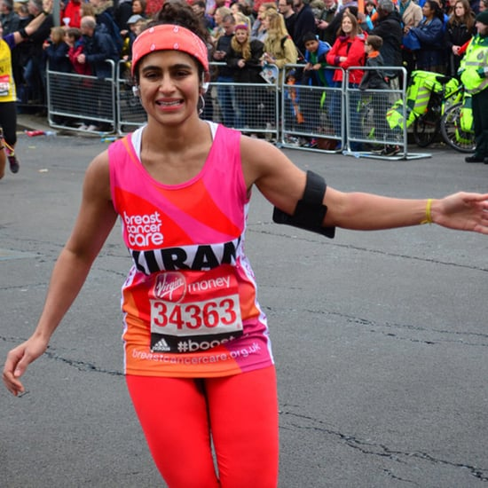 Woman Runs Marathon Without Tampon