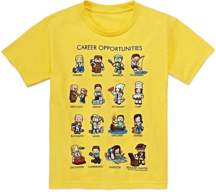 Minecraft Careers Graphic Tee