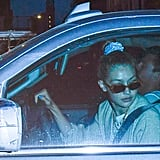 Aug. 22: Gigi Hadid Drives Tyler Cameron Around NYC