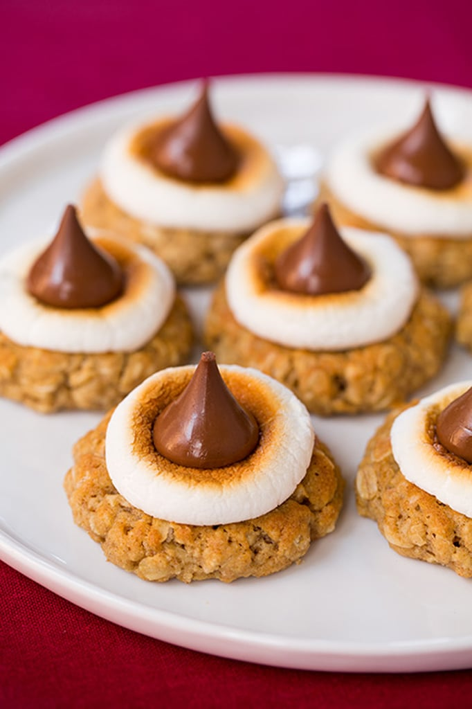 S'mores Oatmeal Kiss Cookies