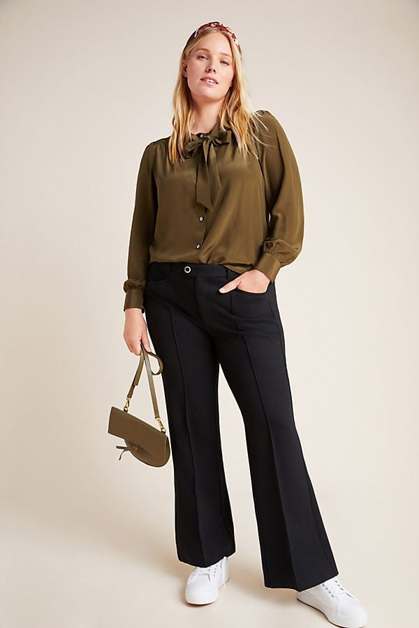 Essentials by Anthropologie The Essential Flare Trousers
