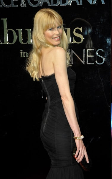 """May 22: Claudia Schiffer at Dolce & Gabbana's """"Fabulous in Cannes"""" bash at Le Baoli"""