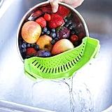 Salbree Clip-On Kitchen Food Strainer