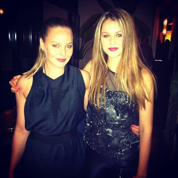 Isabelle Cornish celebrated her big sister Abbie's birthday on the weekend. Source: Instagram user isabellecornishh