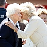 Similarly, Camilla now has a close relationship with the Queen.