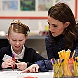 Kate Middleton at Place2B Headquarters in London 2018