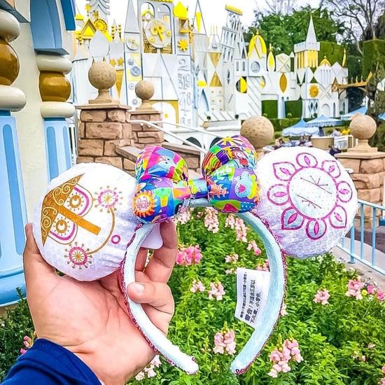 Disney Sequin It's a Small World Minnie Ears