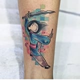 Mulan With Sword