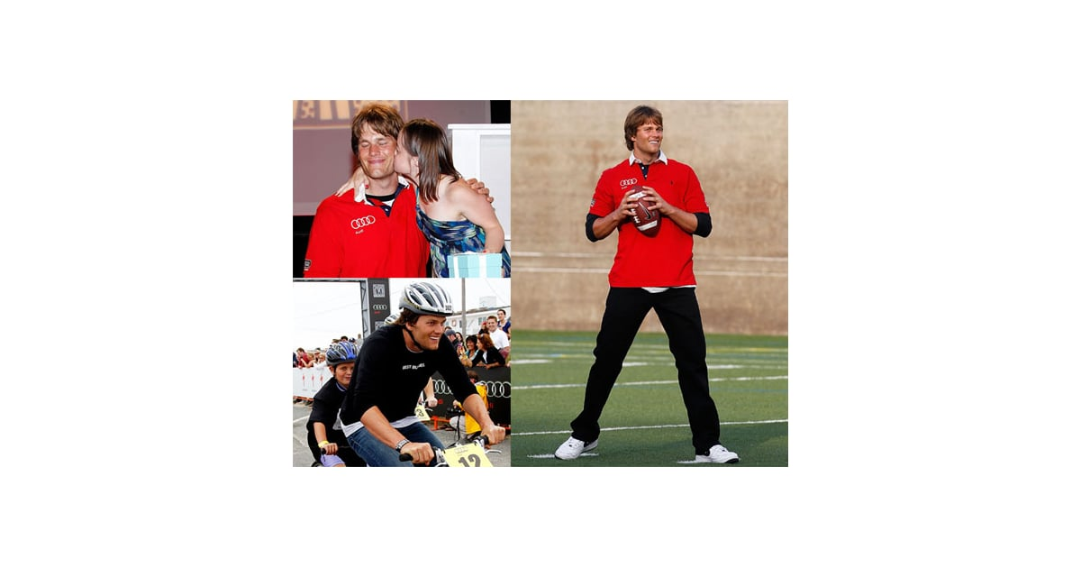 Pictures Of Tom Brady Volunteering At The Best Buddies