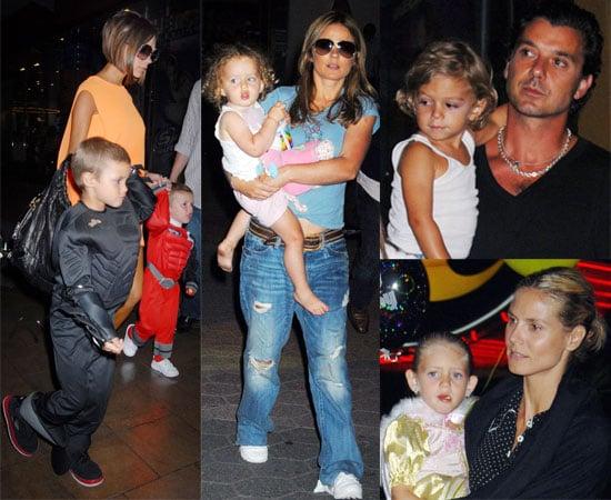 Photos Of Romeo Beckham's Sixth Birthday Party, with Victoria Beckham, Heidi Klum, Gavin Rossdale and Geri Halliwell
