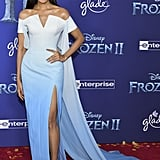 Gam Wichayanee at the Frozen 2 Premiere in Los Angeles