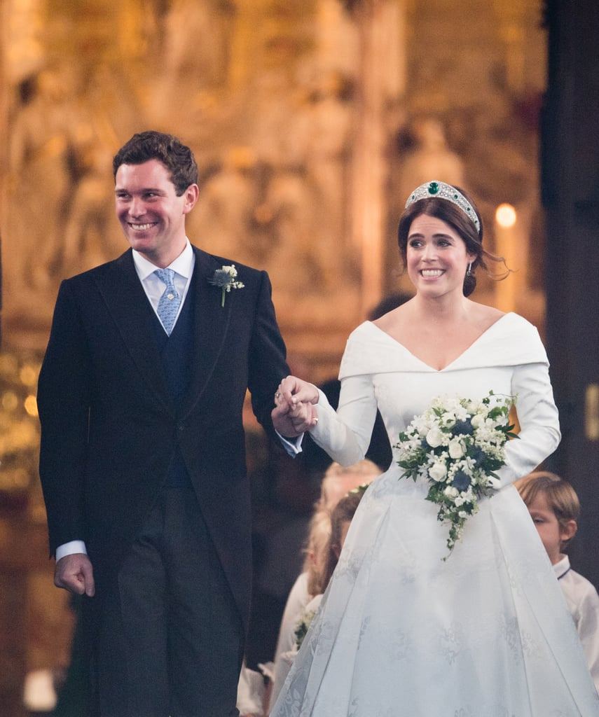 "Princess Eugenie and Jack Brooksbank tied the knot at Windsor's St. George's Chapel on Oct. 12. Now that they are officially married, Eugenie has the option of either keeping her royal title or giving it up and becoming Lady Eugenie. But what about Jack? Did the wine merchant get a fancy royal title, just like Meghan Markle did when she married Prince Harry? Well, actually no. There hasn't been any announcement so far that states Jack received any sort of royal title, so he'll simply remain Mr. Brooksbank. ""There is no precedent for giving a peerage to the commoner husband of a princess on the wedding day,"" royal historian Marlene Koenig previously told Town and Country.  Back in 2016, there were reports that Eugenie's dad, Prince Andrew, had asked the queen to grant his daughters' future husbands earldoms, but he immediately shot the rumors down. ""It is complete fabrication to suggest I have asked for any future husbands of the Princesses to have titles,"" Andrew said in an official statement. ""As a father, my wish for my daughters is for them to be modern working young women, who happen to be Members of the Royal Family, and I am delighted to see them building their careers."" Even though Jack didn't get a royal title, he still got to marry the love of his life, and that's worth a whole lot more than any title.       Related:                                                                                                           10 Reasons Princess Eugenie and Jack Brooksbank's Wedding Will Be Nothing Short of Amazing"