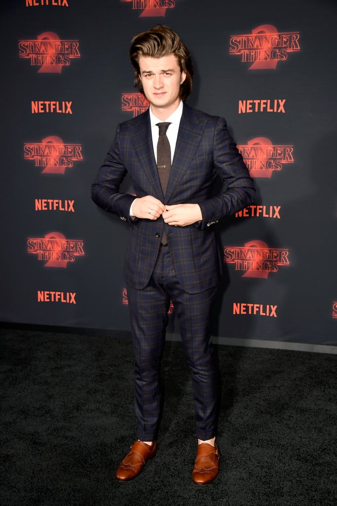 Joe Keery at Stranger Things Season 2 Premiere