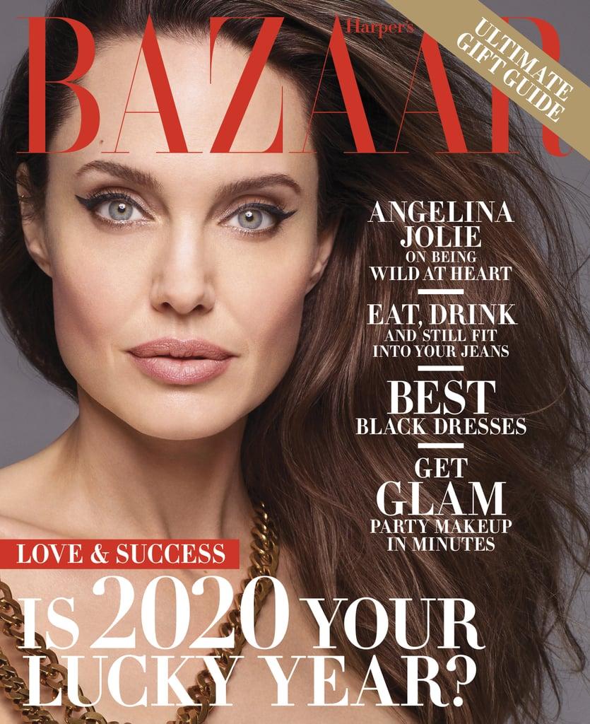 Angelina Jolie Talks Fighting For Freedom in Harper's Bazaar