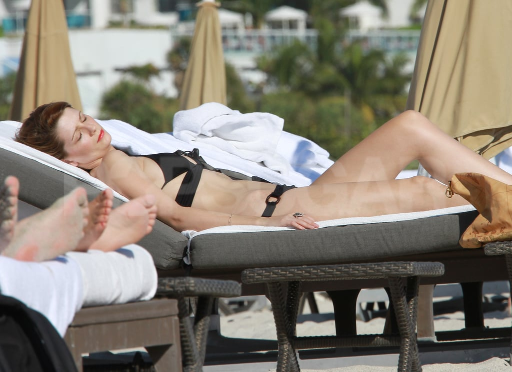 Mischa Barton was in Miami for some bikini time.