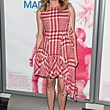 This checkered look was just quirky enough for Diane at the Maryland Paris premiere.
