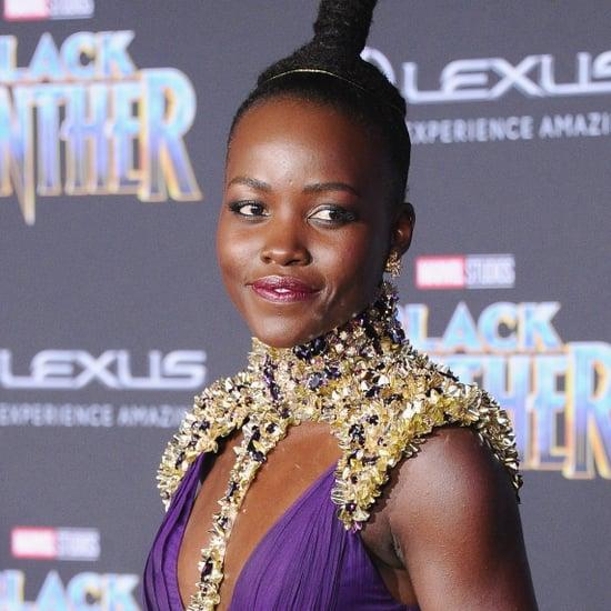 Lupita Nyong'o Black Panther Interview February 2018