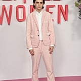 Timothée Chalamet at the Little Women Photocall in London