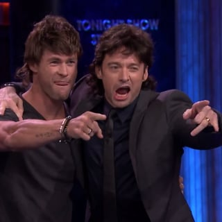 Chris Hemsworth and Hugh Jackman Wearing Mullets