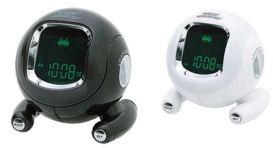 Space Invader Alarm Clock