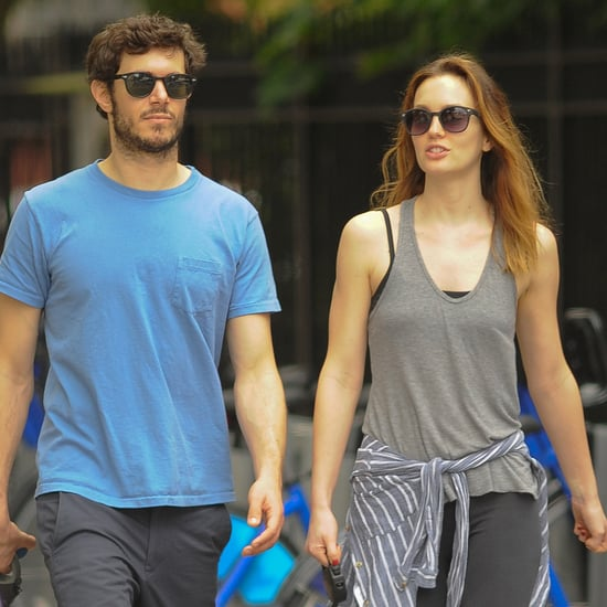 Pictures Adam Brody Leighton Meester Walking Dog Together