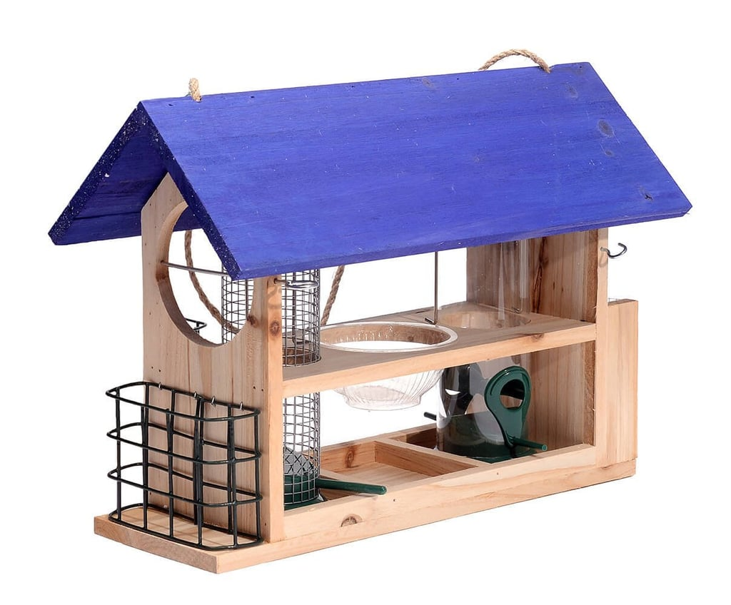 Outside Fun Cedar Wood Deluxe Bird House