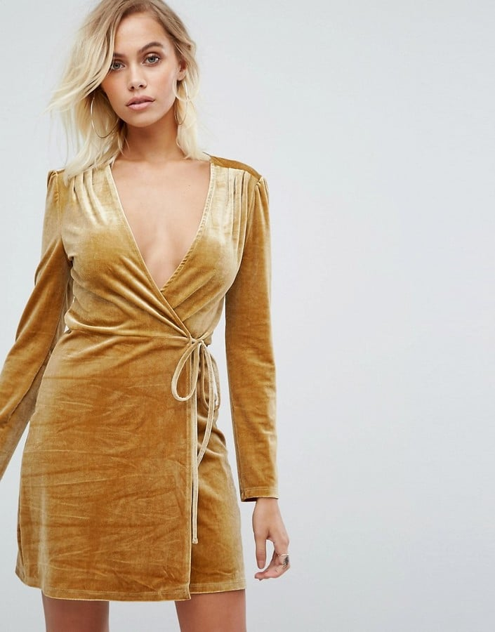 Fashion Union Wrap Dress