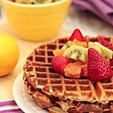 Citrus Poppyseed Waffles