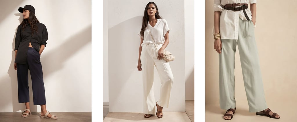 Outfit Ideas Using Wide-Leg Pants