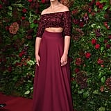 Naomi Scott at the 65th Evening Standard Theatre Awards