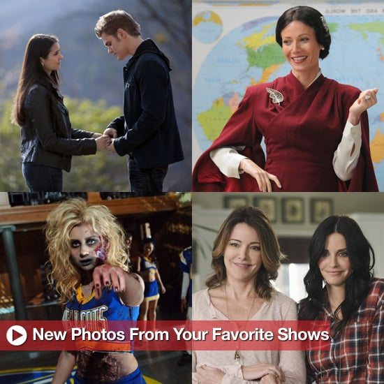 Pictures From Glee, Cougar Town, The Vampire Diaries