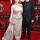 Pictured: Christina Hendricks and Geoffrey Arend