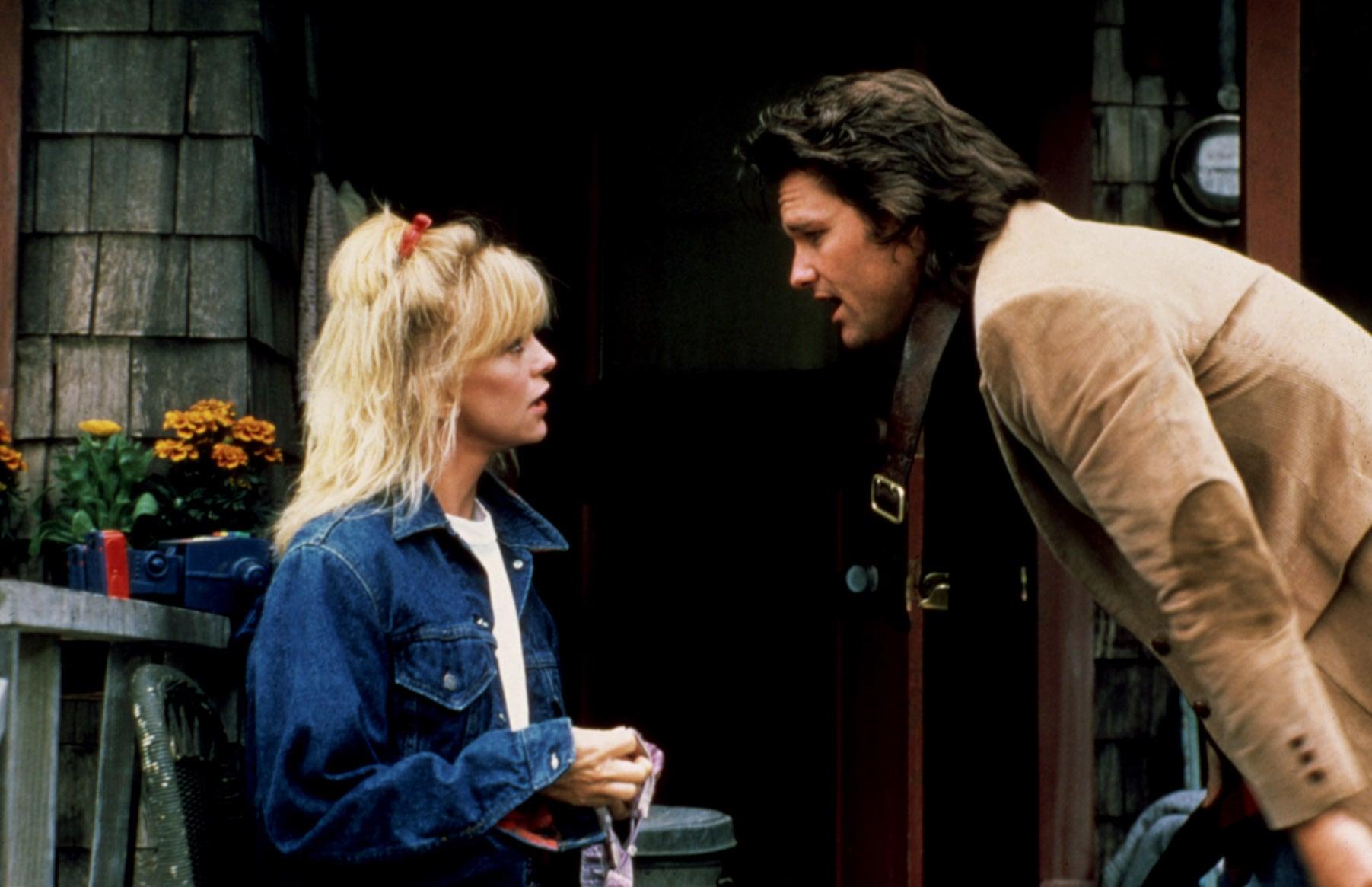 OVERBOARD, Goldie Hawn, Kurt Russell, 1987