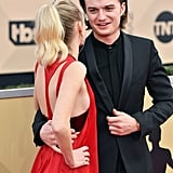 Joe Keery and Maika Monroe Pictures
