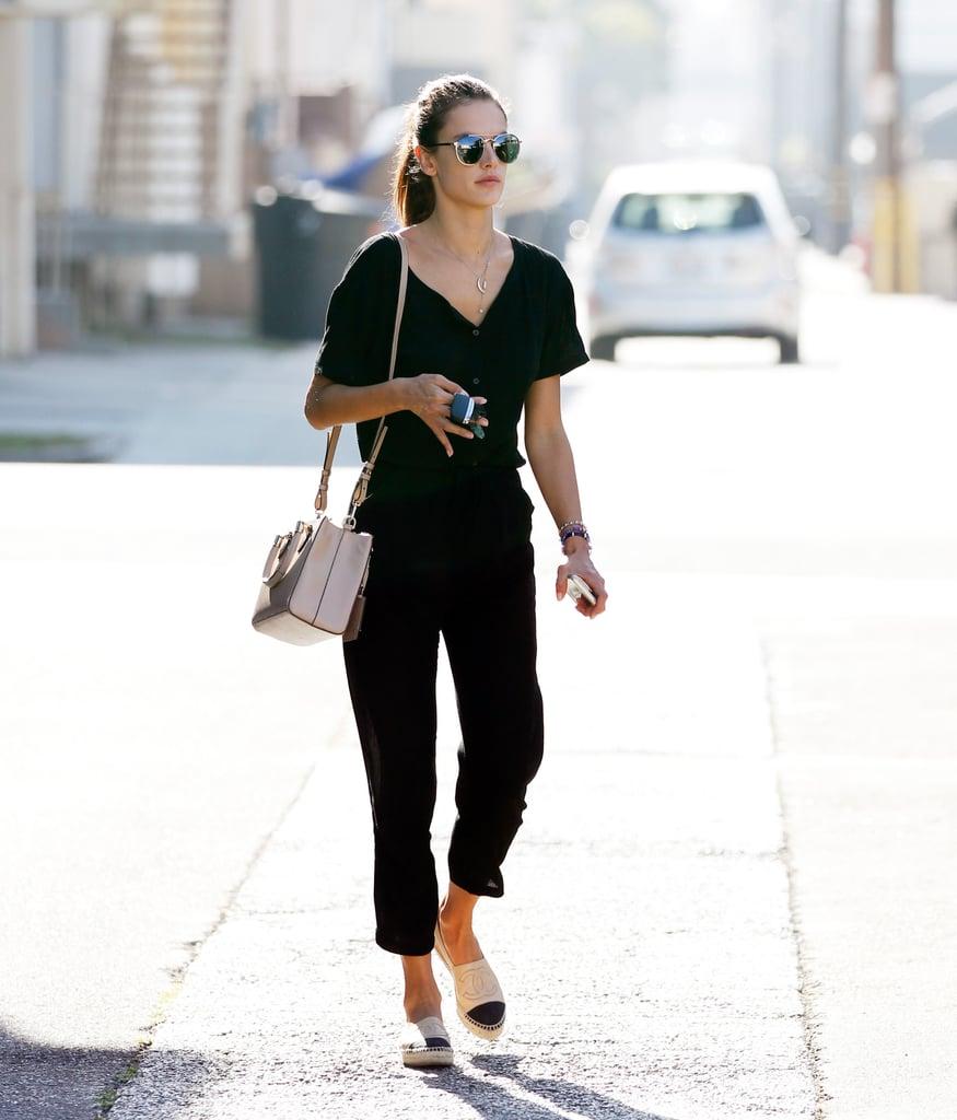 Alessandra Ambrosio Street Style