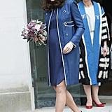 Kate Middleton Visits London Hospital February 2018
