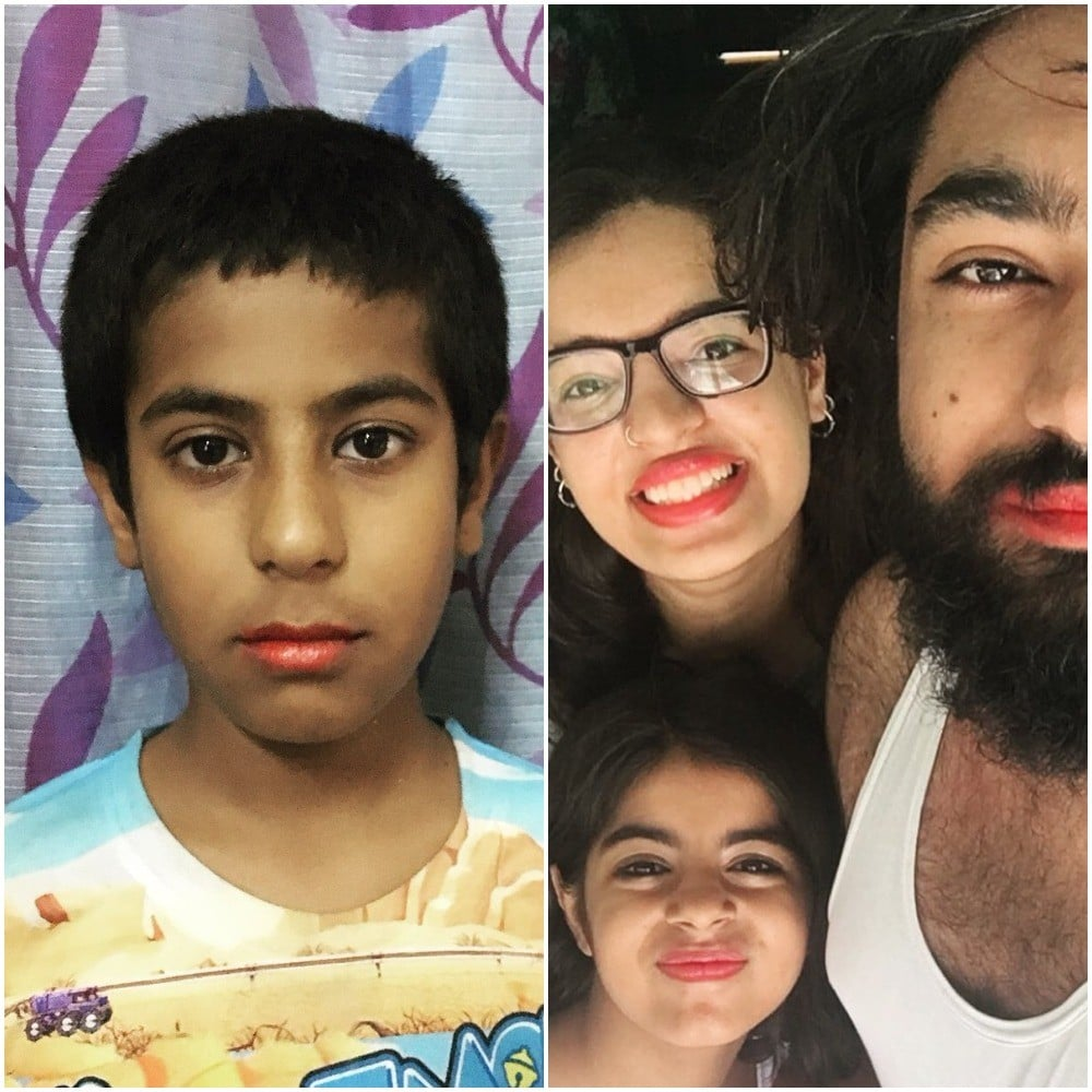 Family Wears Lipstick to Support Bullied Cousin